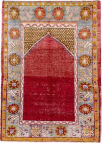 Antique Oushak Rug, No. 21414 - Galerie Shabab