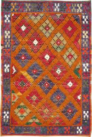 Vintage Tulu Rug, No. 21417 - Galerie Shabab