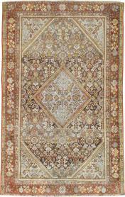 Antique Mahal Rug, No. 21450 - Galerie Shabab