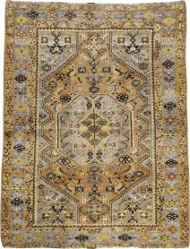 Antique Afshar Rug, No. 21522 - Galerie Shabab