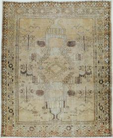 Antique Afshar Rug, No. 21527 - Galerie Shabab