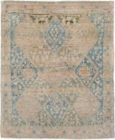 Antique Afshar Square Rug, No. 21620 - Galerie Shabab