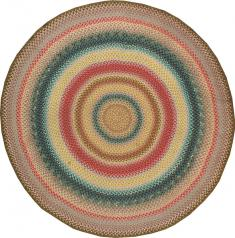 Vintage Braid Rug, No. 21694 - Galerie Shabab