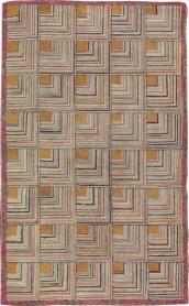 Vintage Hook Rug, No. 21700 - Galerie Shabab