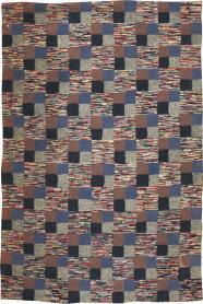 Vintage Hook Rug, No. 21709 - Galerie Shabab