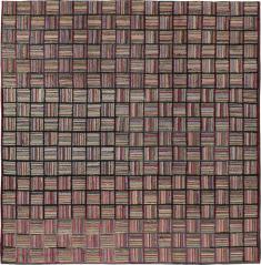 Vintage Hook Rug, No. 21723 - Galerie Shabab