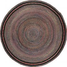 Vintage Braid Rug, No. 21728 - Galerie Shabab