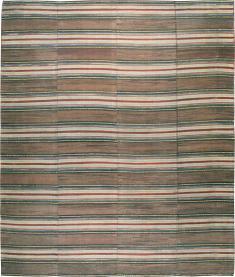 Vintage Rag Rug, No. 21734 - Galerie Shabab