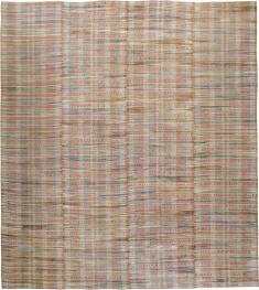 Vintage Rag Rug, No. 21735 - Galerie Shabab