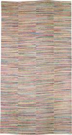 Vintage Rag Rug, No. 21743 - Galerie Shabab