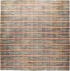 Vintage Rag Rug, No. 21745 - Galerie Shabab