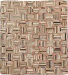 Vintage Hook Rug, No. 21748 - Galerie Shabab