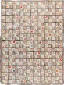 Vintage Hook Rug, No. 21751 - Galerie Shabab