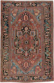 Antique Heriz Carpet, No. 21853 - Galerie Shabab