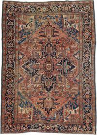 Antique Heriz Carpet, No. 21883 - Galerie Shabab