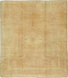 Vintage Oushak Carpet, No. 21891 - Galerie Shabab