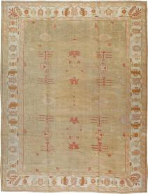 Antique Oushak Carpet, No. 22033 - Galerie Shabab