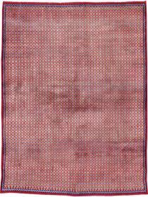 Vintage Kashan Modernist Rug, No. 22048 - Galerie Shabab