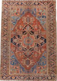 Antique Heriz Carpet, No. 22061 - Galerie Shabab