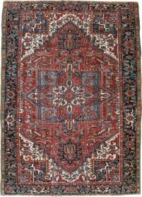 Semi-Antique Heriz Carpet, No. 22068 - Galerie Shabab