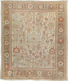 Antique Oushak Carpet, No. 22086 - Galerie Shabab
