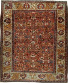 Antique Sultanabad Carpet, No. 22149 - Galerie Shabab