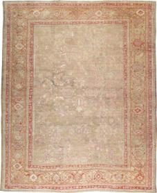 Antique Oushak Carpet, No. 22167 - Galerie Shabab