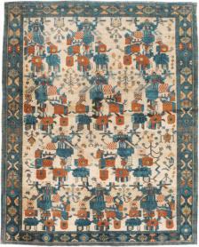 Antique Afshar Rug, No. 22183 - Galerie Shabab