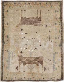 Vintage Afshar Rug, No. 22203 - Galerie Shabab
