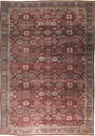 Antique Mahal Carpet, No. 22239 - Galerie Shabab