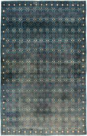 Vintage Kashan Rug, No. 22299 - Galerie Shabab