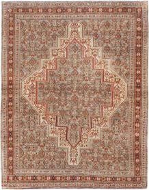 Antique Senneh Rug, No. 22301 - Galerie Shabab