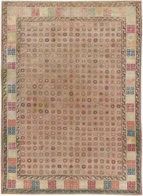 Antique Agra Rug, No. 22335 - Galerie Shabab