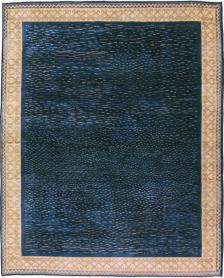Vintage Art Deco Rug, No. 22428 - Galerie Shabab