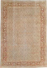 Antique Persian Tabriz Carpet, No. 22429 - Galerie Shabab
