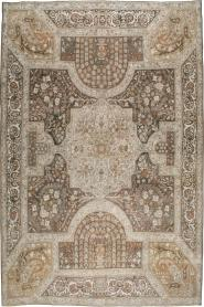 Antique Yazd Carpet, No. 22473 - Galerie Shabab