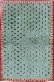 Vintage Kashan Modernist Rug, No. 22480 - Galerie Shabab