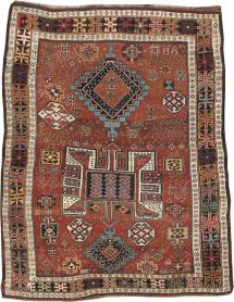 Antique Kurdish Rug, No. 22562 - Galerie Shabab
