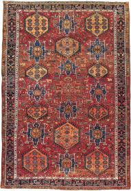 Semi-Antique Karajeh Carpet, No. 22567 - Galerie Shabab