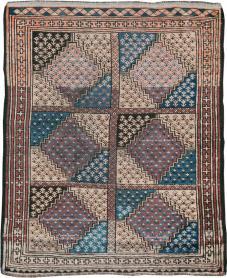 Antique Baluch Rug, No. 22598 - Galerie Shabab