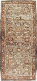 Antique Bidjar Long Carpet, No. 22637 - Galerie Shabab