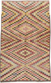 Vintage Anatolian Carpet, No. 22644 - Galerie Shabab
