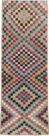 Vintage Anatolian Runner, No. 22657 - Galerie Shabab