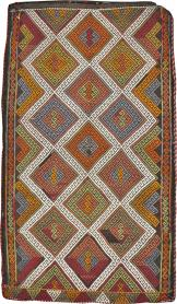 Vintage Flatweave, No. 22664 - Galerie Shabab