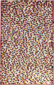 Vintage Kashan Modernist Carpet, No. 22839 - Galerie Shabab