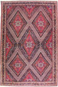 Vintage Afshar Carpet, No. 22844 - Galerie Shabab