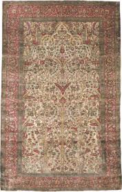 Antique Silk Kashan Rug, No. 22900 - Galerie Shabab