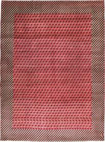 Vintage Kashan Modernist Carpet, No. 22916 - Galerie Shabab