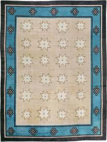 Antique Mongolian Carpet, No. 23018 - Galerie Shabab
