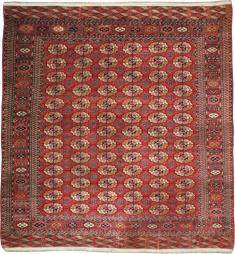 Vintage Tekke Rug, No. 23341 - Galerie Shabab